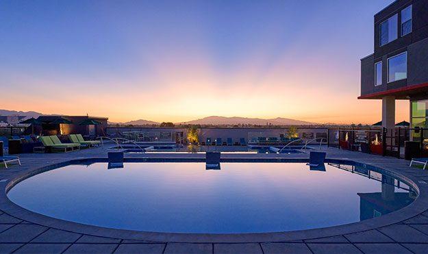 Rooftop Pools & Spas